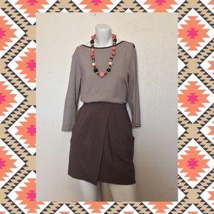 🍂Banana Republic Petal Skirt